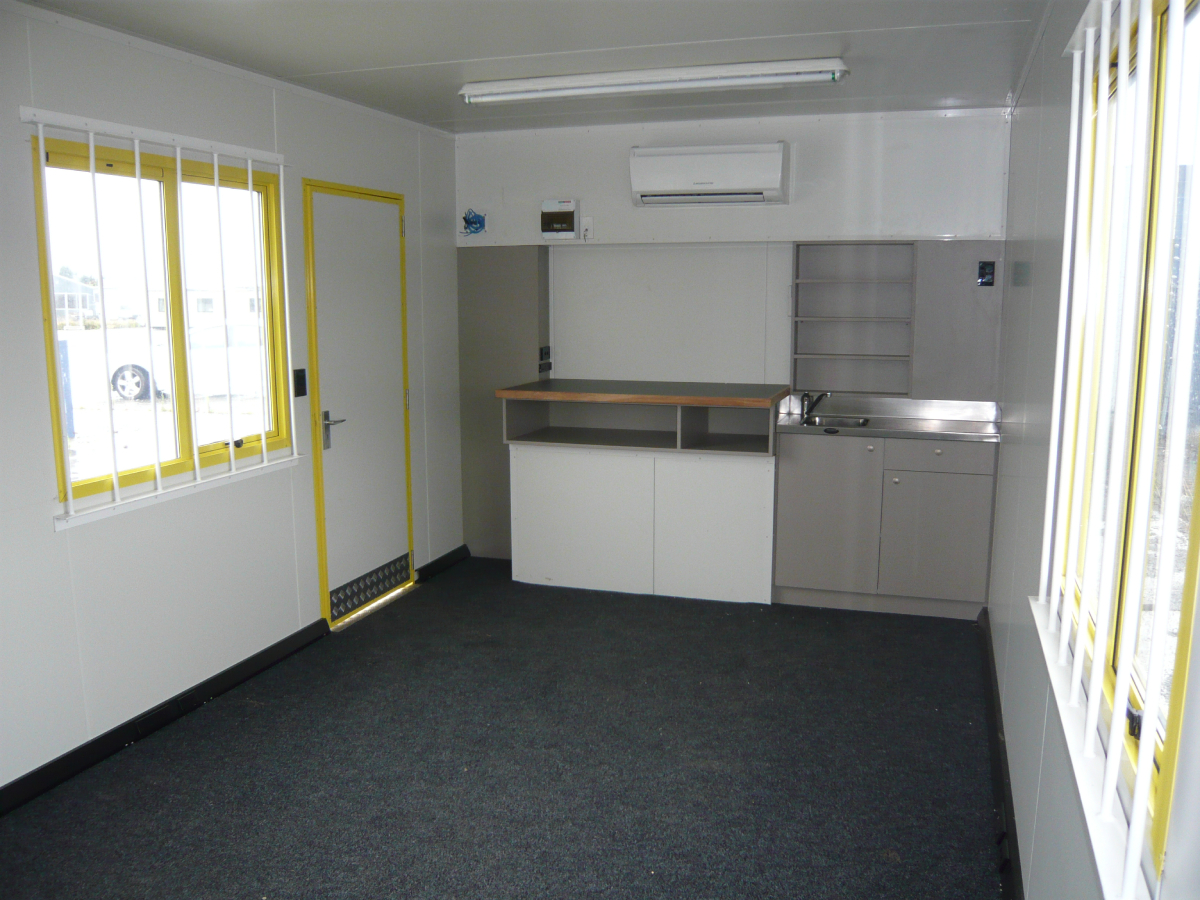 6x3m Site Office - Stackable