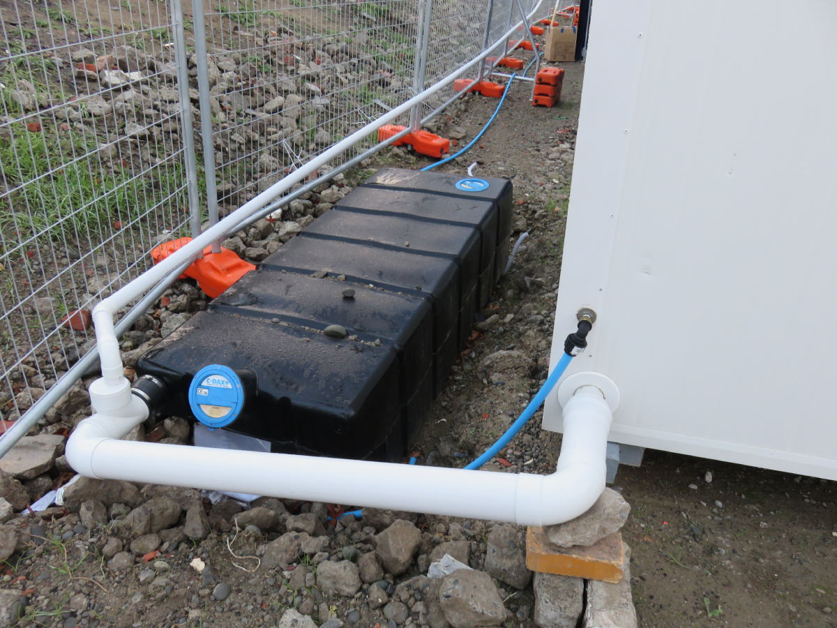 1000L Waste & Grey Water Holding Tanks